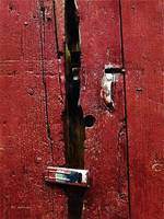 Battered Barn Door
