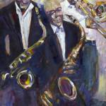 """""""Jazz - Riding the Bus"""" by barbarahart"""