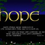 """Word of hope"" by cyberscribe"