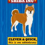 """Shiba Inu Royal/Red"" by Nose2Tales"