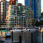 """False Creek at Sunset"" by raetucker"