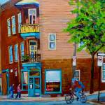 """PAINTINGS OF MONTREAL STREETS WILENSKY"