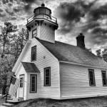 """Mission Point Lighthouse"" by geoffe"