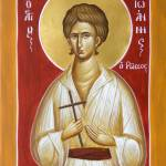 """""""St John the Russian"""" by ikonographics"""