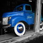 """Blue Ford"" by geoffe"