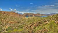 Canyon Lake Panorama HDR
