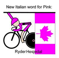 New Italian word for Pink