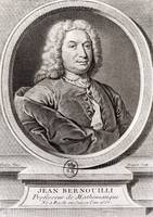 Portrait of Jean Bernoulli (1667-1748)
