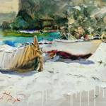 """""""Boats of Catalonia"""" by OlegTrofimoff"""