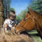 """Hay Baby"" by UngerArt"