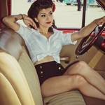 """""""2011 Good Guys Del Mar National Car Show - Lauren-"""" by rockabillyboy72"""