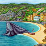 """Colours of Monterosso, Cinque Terre"" by LisaLorenz"