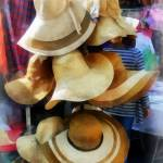 """Straw Hats"" by susansartgallery"