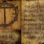 """John 3:16"" by GRphoto"