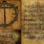 """John 3:16 #2"" by GRphoto"