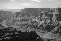 Grand Canyon Black and White 2