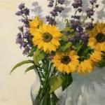"""""""Saturdays Sunflowers"""" by KimVanDerHoek"""