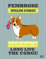 Pembroke Welsh Corgi Gray/Gold
