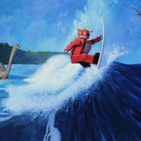 """Surfer Joe"" by Tinman"