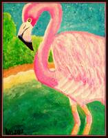flamingo george
