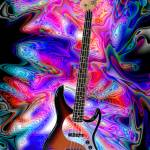 """Psychedelic Bass Guitar"" by jt85"