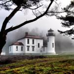 """Lighthouse in the Fog"" by gopnw"