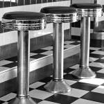 """Diner Stools"" by lisa5"