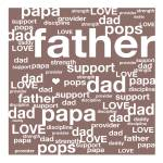 """DAD tag cloud"" by linneaheide"