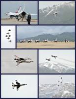 Air Show Collage