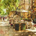 """Caffee in Barcelona"" by OlegTrofimoff"