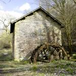 """Mill and Water-wheel near Ashford-in-the-Water"" by rodjohnson"