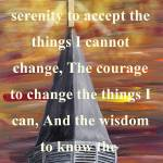 """Serenity Prayer in White"" by markmooreart"