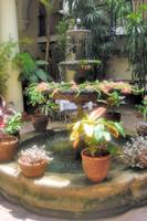 Traditional Spanish Patio