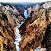Grand Canyon of the Yellowstone06 Art Prints & Posters by Paddrick Mackin