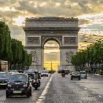 """""""Champs-Élysées Sunset"""" by JosephPlotz"""