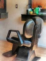 Barber Chair and Hair Supplies