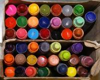 Halle's art supplies
