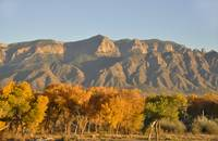 Fall Sunset on the Sandia Mountains