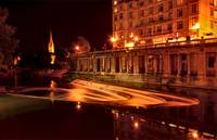 Bath at Night