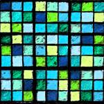 """Sudoku Abstract Blue Green"" by KsWorldArt"