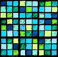 Sudoku Abstract Blue Green