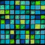 """Sudoku Abstract Dark Blue"" by KsWorldArt"