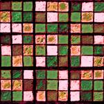"""Sudoku Abstract Brown Green"" by KsWorldArt"