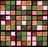 Sudoku Abstract Brown Green