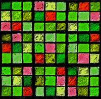Sudoku Abstract Green Red