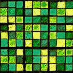 """Sudoku Abstract Green Yellow"" by KsWorldArt"