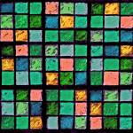 """Sudoku Abstract Blue Green Orange"" by KsWorldArt"