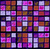 Sudoku Abstract Violet Orange