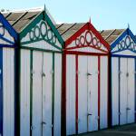 """Beach Huts"" by RachelP"