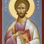 """St Luke the Evangelist"" by ikonographics"